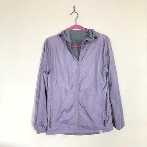 NWOT Avalanche Lavender Reversible Windbreaker - M